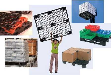 Plastic Pallets, Crates and Bulk Containers