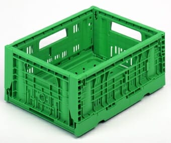 A sample of the plastic crates for sale by Plastic2go