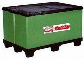 Export Plastic Bulk Containers