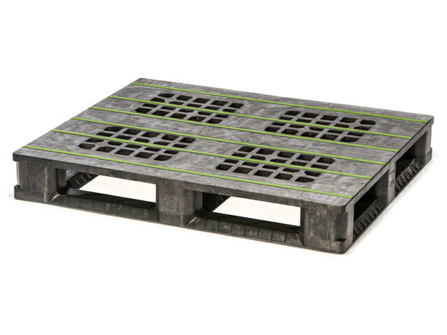 Heavy Duty ISO Plastic Pallet P2G750