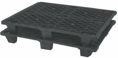 Light Weight ISO Plastic Pallet P2G110