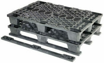 Medium Duty Euro Plastic Pallet 840