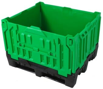 One of the many plastic bulk containers for sale by Plastic2go
