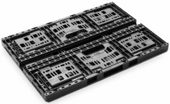 Folding Vented Plastic Crate C2GP6421V