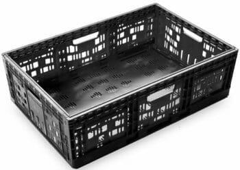 Folding Vented Plastic Crate C2GP6421V