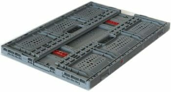 Folded Vented Plastic Crate C2GP6422FV