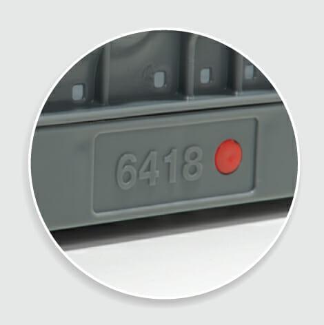 Height marking pin