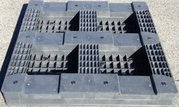 Heavy duty rackable Australian Standard pallet bottom P2GE1165HM