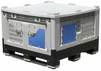 Folding Vented Pallet Box (IBC) B2GE1165FV