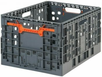 Folding Vented Plastic Crate C2GP5528FV