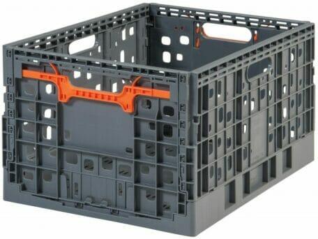 Folding Vented Plastic Crate C2GP5528FV