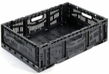 Folding Vented Plastic Crate C2GP6416FV