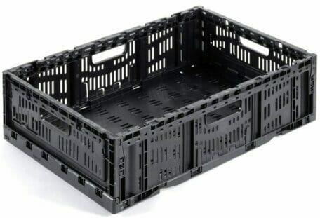 Folding Vented Plastic Crate C2GP6416FV