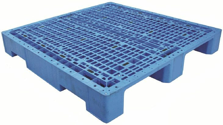Medium Duty Plastic Pallet P2GE1160H