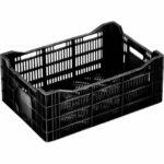 Vented Plastic Crate C2G6424U