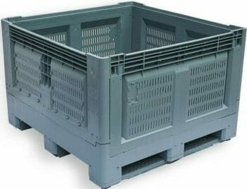 Folding Vented Pallet Box (IBC) B2GE1165FV