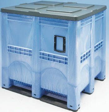Giant Plastic Pallet Box B2G1311S with Lid