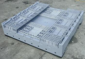 Low folding solid Australian Standard plastic box